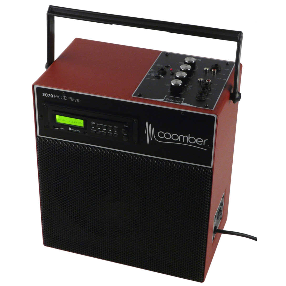 Coomber 2070 portable amplifier with cd player built in - Mobile porta cd ...