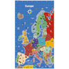 TTS Bee-Bot Mat - Map of Europe - GE00563