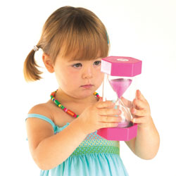TickiT Large Sand Timer 2 Minute (Pink)