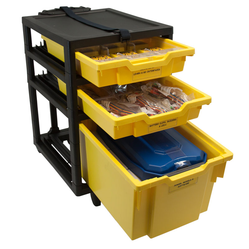 Data Harvest Learn and Go Class Cart - 6294PK