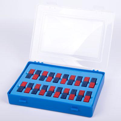 Ceramic 50mm Bar Magnets - including Case (Set of 20) - CD50281