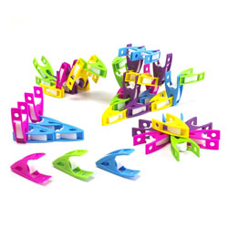 Rainbow Coloured Small Pegs - Pack of 30