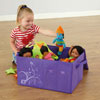 TTS Grab & Go Purple Folding Storage Box - FU06249