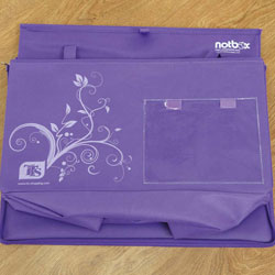 TTS Grab & Go Purple Folding Storage Box