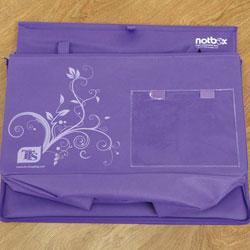 TTS Grab & Go Purple Folding Storage Box