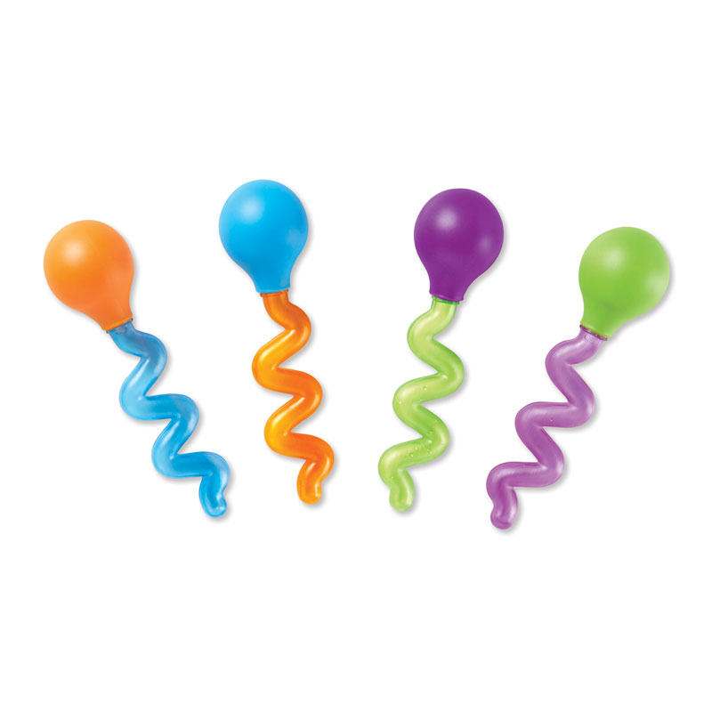 Twisty Droppers (Set of 4) - by Learning Resources - LER3963