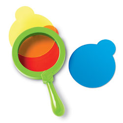 Primary Science Colour Mixing Lenses - by Learning Resources