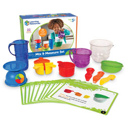 Primary Science Mix and Measure Kit - by Learning Resources [LER2783 , SC00699]