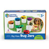 Primary Science Big View Bug Jars - Set of 6 - by Learning Resources - LER2781