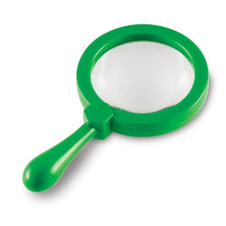 Primary Science Jumbo Magnifiers (Set of 6) - by Learning Resources [LER2774 , EY03753]