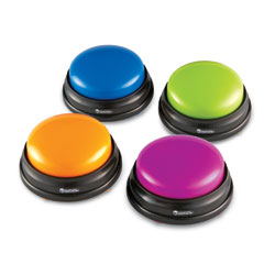 Answer Buzzers (Set of 4) - by Learning Resources