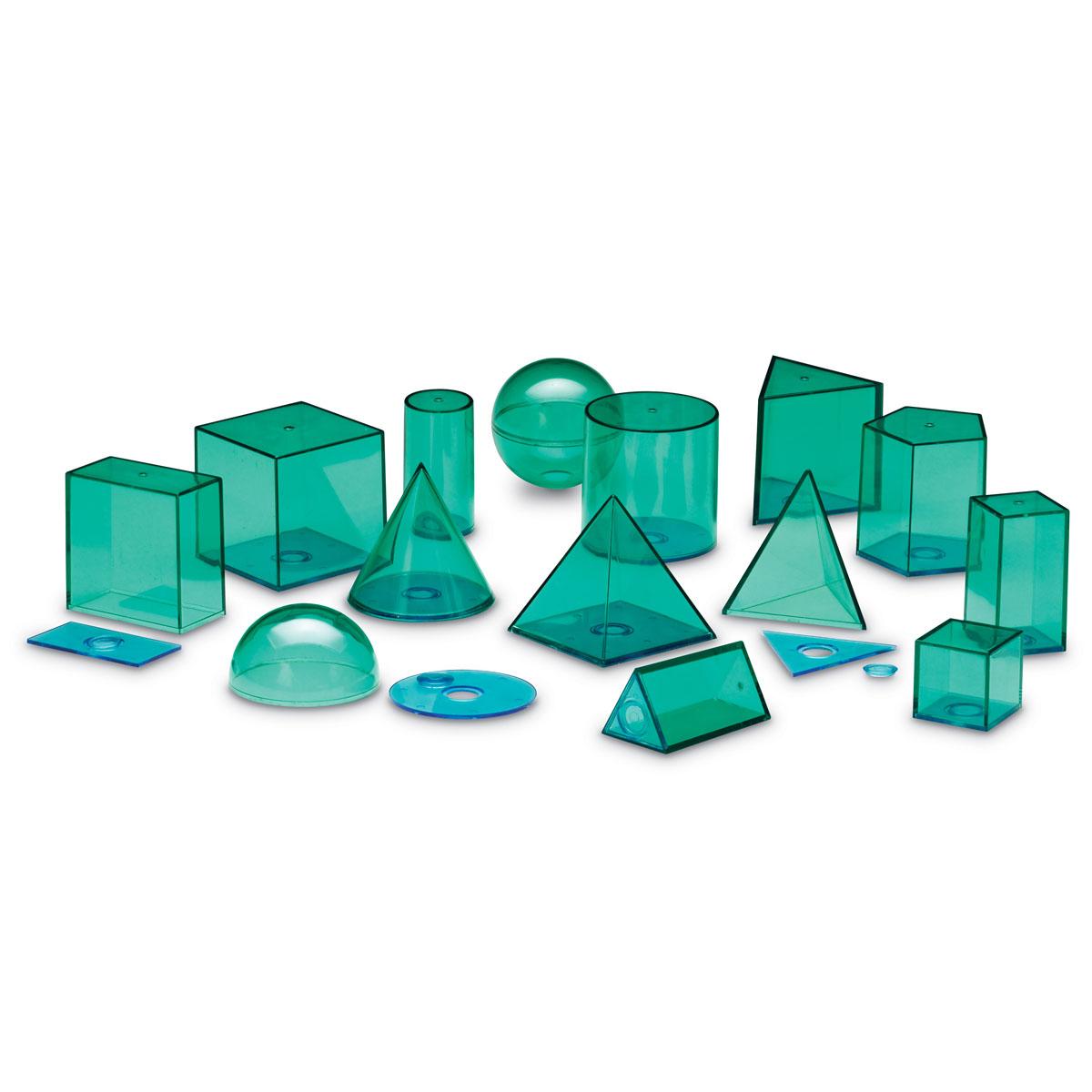 Buy School View-Thru Large Geometric Shapes Set - by