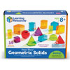 View-Thru Colourful Geometric Geosolids - Set of 14 - by Learning Resources - LER4331