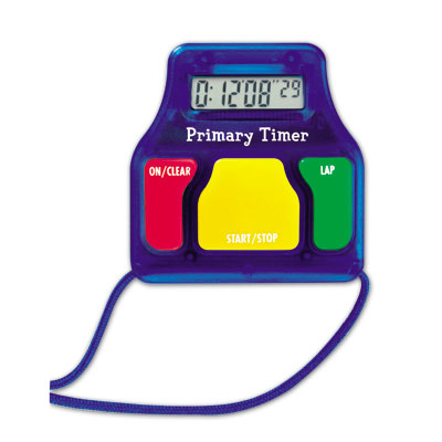 Primary Timers (Set of 6) - by Learning Resources - LER8136