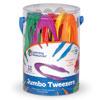 Jumbo Tweezers - Set of 12 - by Learning Resources - LER1963