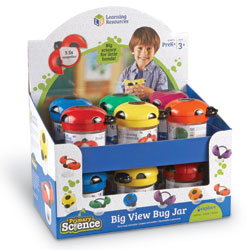 Primary Science Jumbo Bug Jars (Set of 12) - by Learning Resources