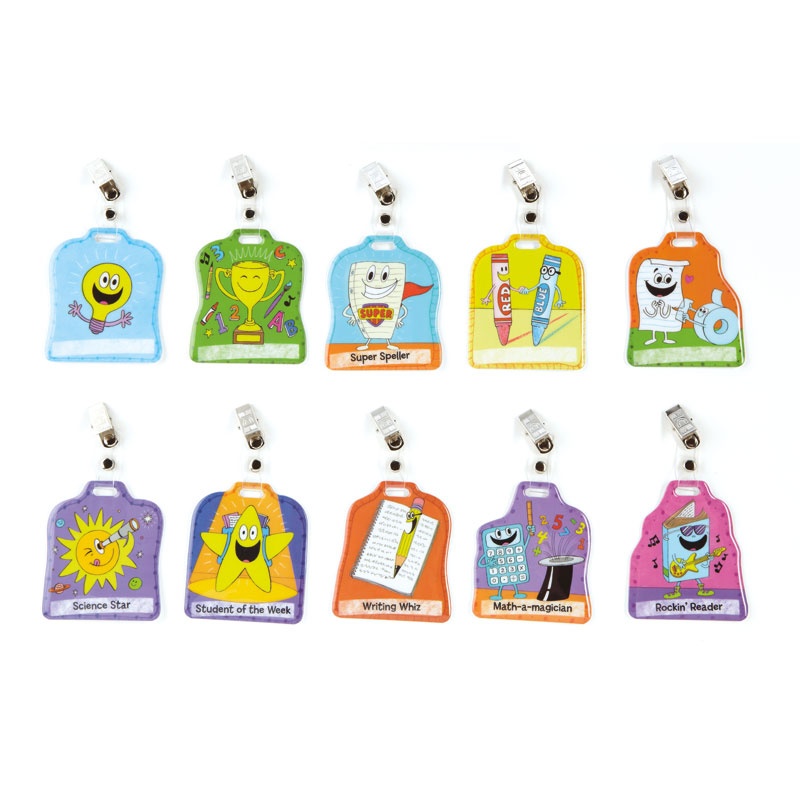 Good for Me! Classroom Achievement Badges (Set of 10) - by Educational Insights - EI-1256