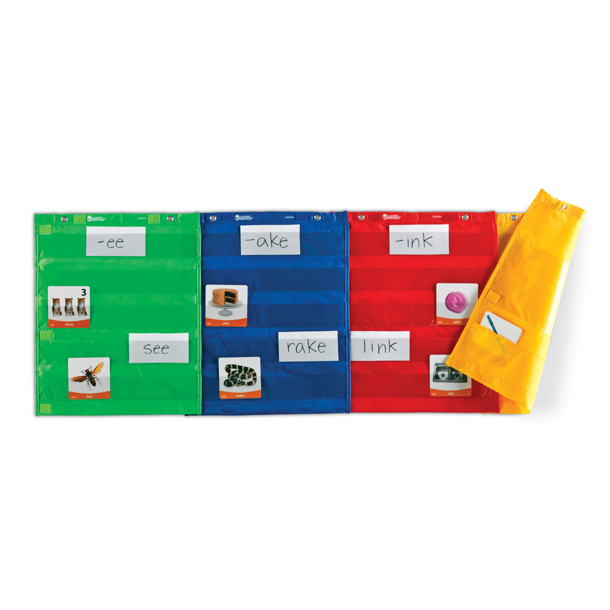 magnetic pocket chart squares set of 4 by learning resources ler2384 buy at primary ict