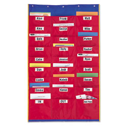 Organisation Station Pocket Chart - by Learning Resources