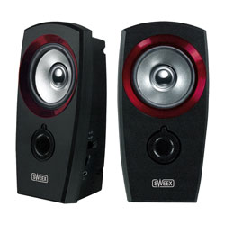 Sweex 2.0 Speaker Set USB Powered - with Volume Control & Headphone Socket
