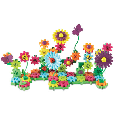 Gears! Gears! Gears! Build and Bloom Building Set - Set of 116 Pieces - by Learning Resources - LER9214-D