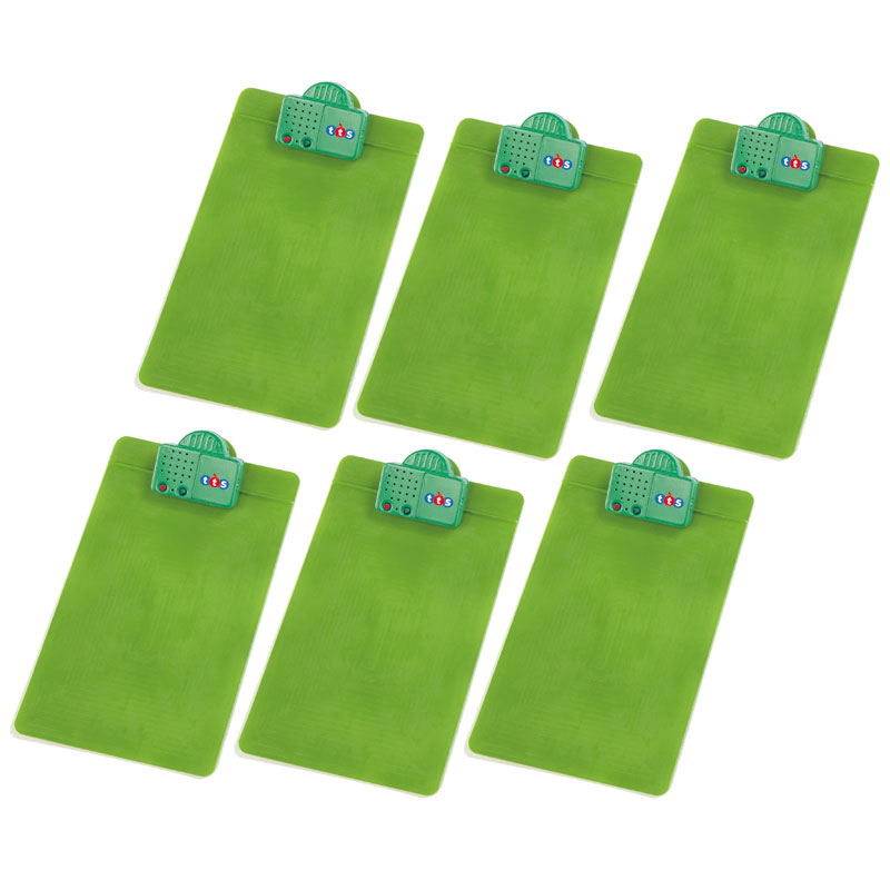 TTS Talking Clipboard - A4 Size (Pack of 6) - EY05489