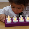 TTS Clever Candles - Set of 12 Rechargeable Candles with Charging Station - PS00386