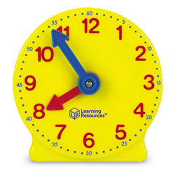 The Original Classroom Geared Clock Bundle - includes 1x Teacher & 24x Student Clocks - by Learning Resources [LER2102 , M-CKIT]