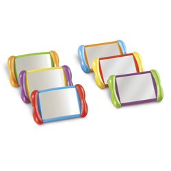 All About Me 2 in 1 Mirrors - Set of 6 - by Learning Resources