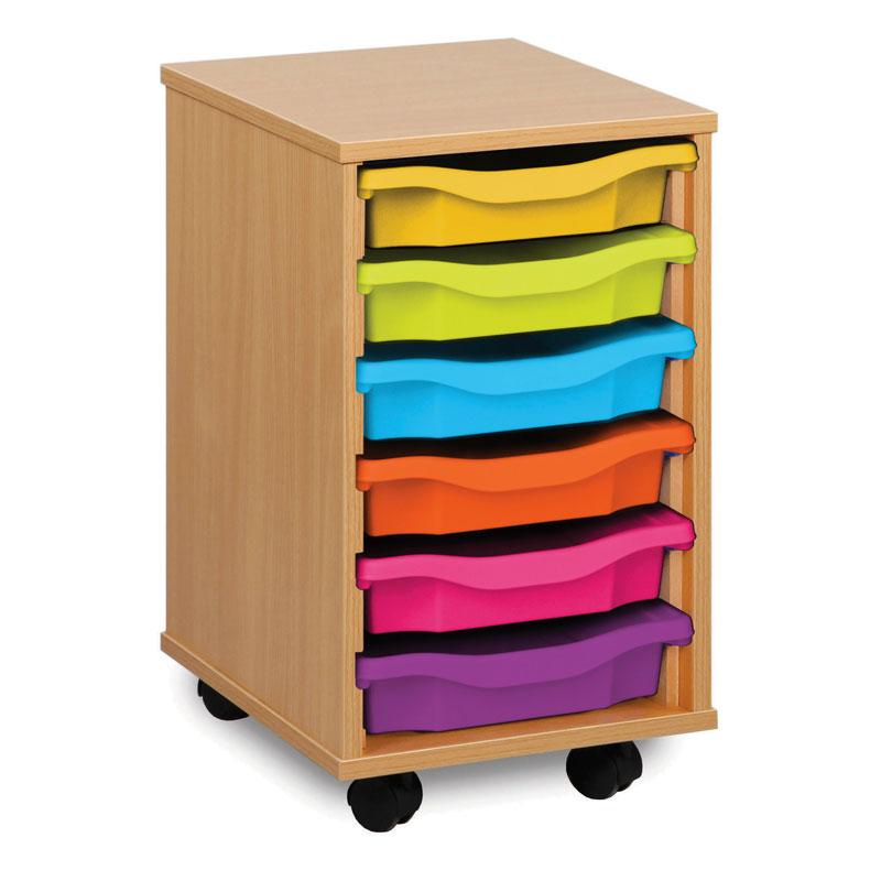 6 Shallow Tray Storage Unit - MEQ1W