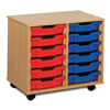 12 Shallow Tray Storage Unit - MEQ2W