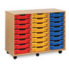 24 Shallow Tray Storage Unit - MEQ4W