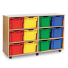 12 Extra Deep Tray Storage Unit - MEQ3112