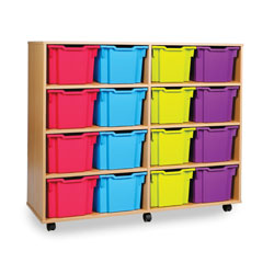 16 Extra Deep Tray Storage Unit  [MEQ3116]