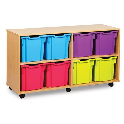 8 Jumbo Tray Storage Unit - MEQ1021