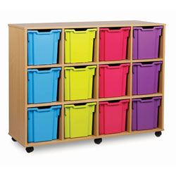 Jumbo Tray Storage Unit