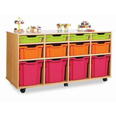 12 Variety Tray Storage Unit - Horizontal - MEQ1031