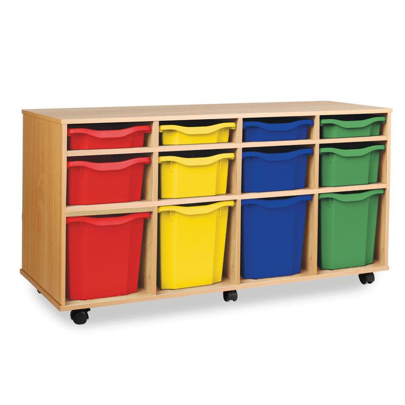 12 Variety Tray Storage Unit - Horizontal - MEQ1031