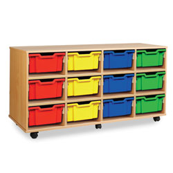 Combination Tray Storage Unit - 12 Deep or 24 Shallow [MEQ4012]