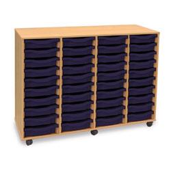 40 Shallow Tray Storage Unit