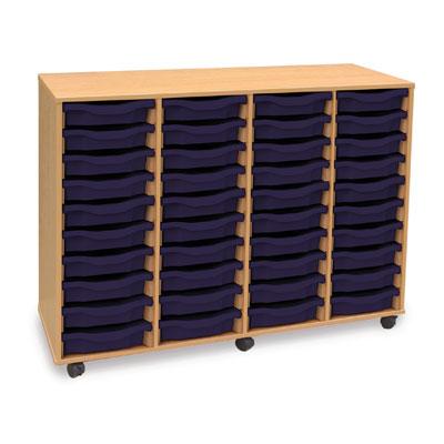 40 Shallow Tray Storage Unit - MEQ40W