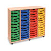48 Shallow Tray Storage Unit - MEQ48W