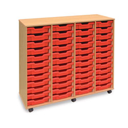 48 Shallow Tray Storage Unit