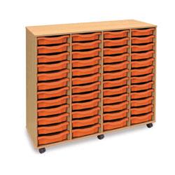 48 Shallow Tray Storage Unit