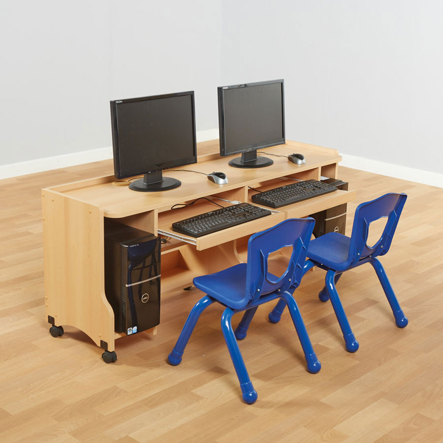 beech computer desk fu07158 buy at primary ict for primary schools education