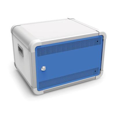 DeskCabby 12 Port Tablet Cabinet - Charge & Sync - DESKCAB12