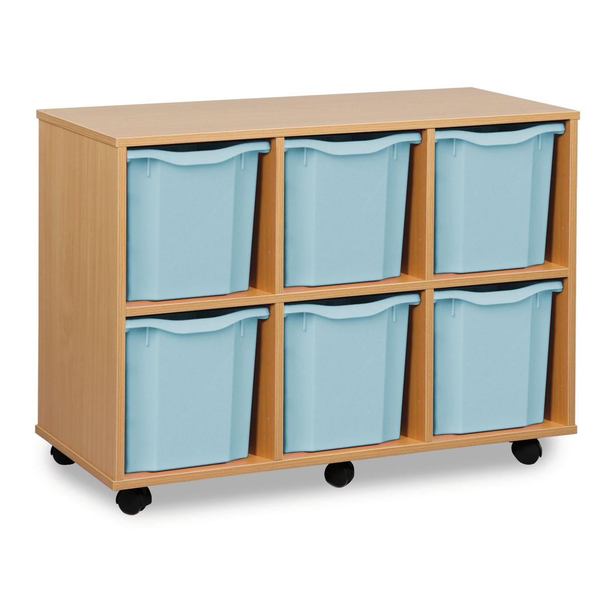 Buy 6 Jumbo Tray Storage Unit Meq1062 Primary Ict