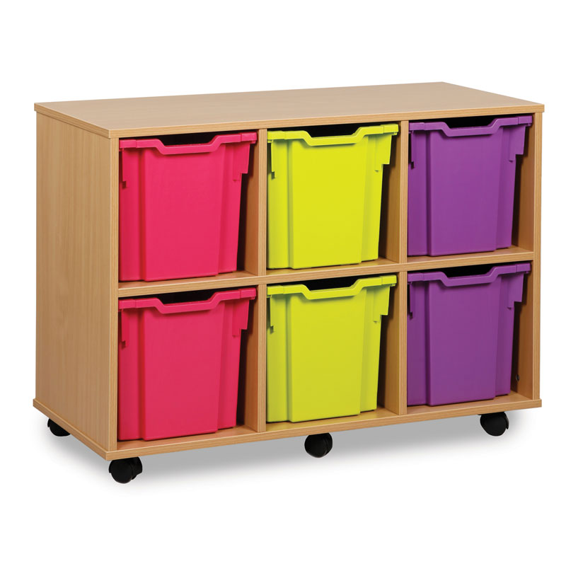 6 Jumbo Tray Storage Unit - MEQ1062