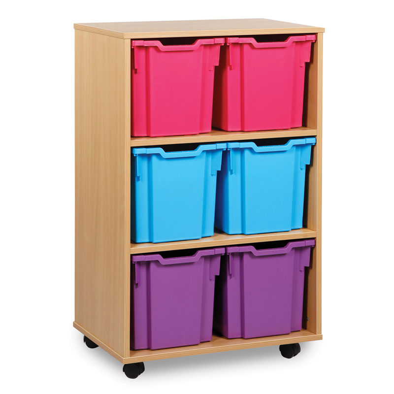 6 Jumbo Tray Storage Unit - MEQ1011