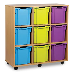 9 Jumbo Tray Storage Unit